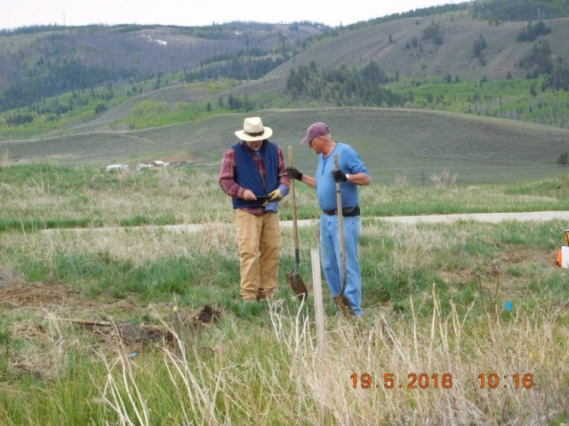 Upper Colorado River Watershed Group volunteers