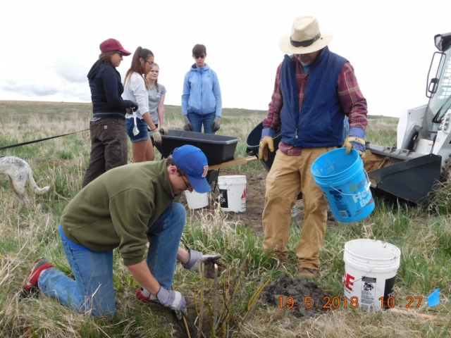 ucrwg Upper Colorado River Watershed Group and Interact at Smith Creek Planting