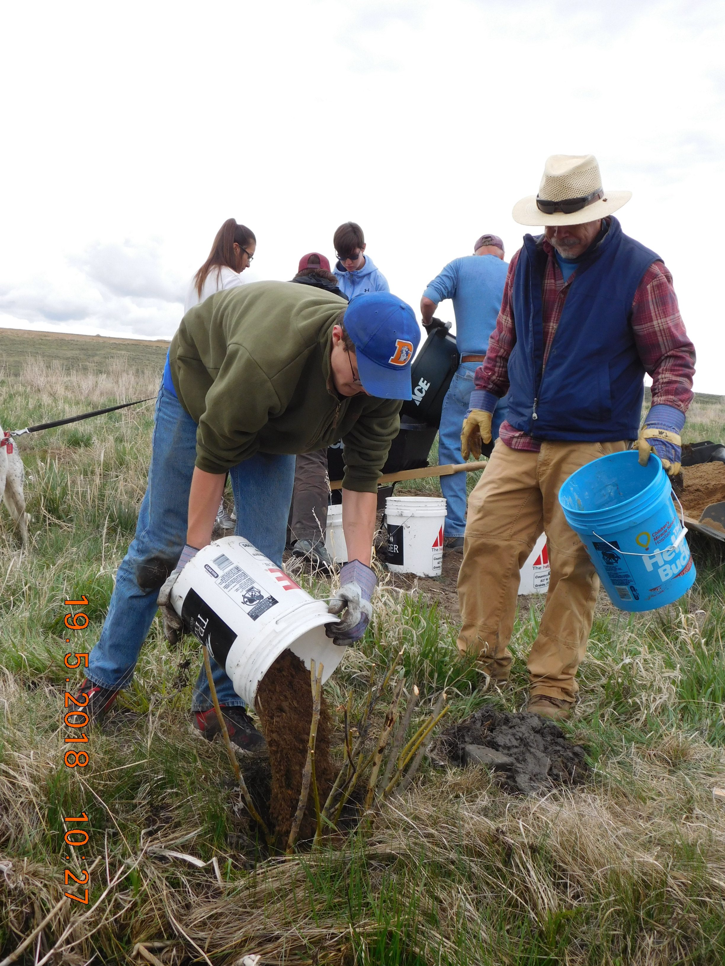 ucrwg Upper Colorado River Watershed Group and Interact at Smith Creek Planting 2