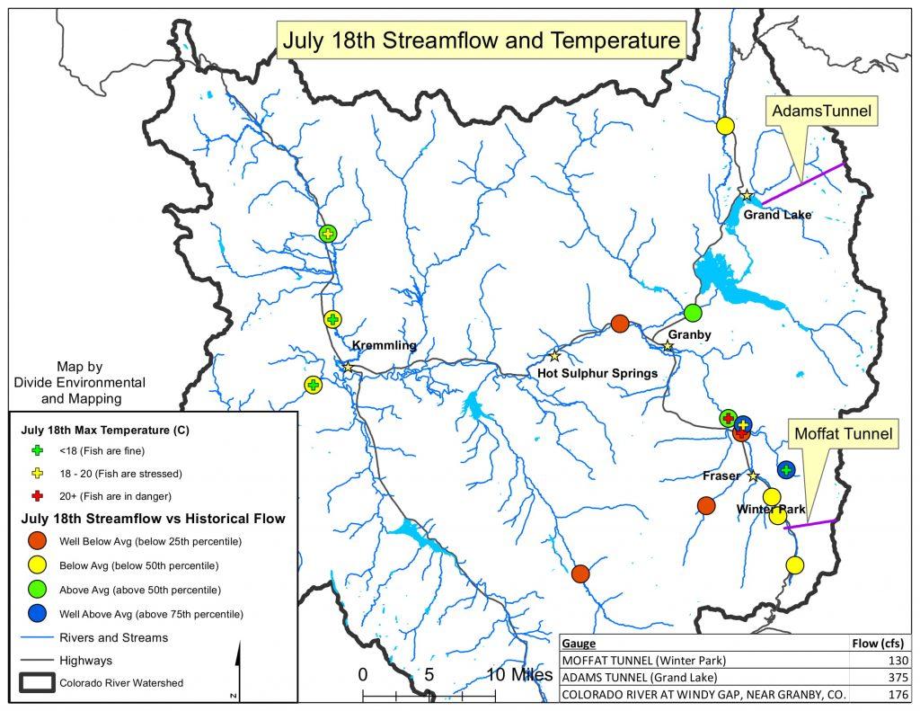 Upper Colorado River Watershed Snapshot: July 17, 2020